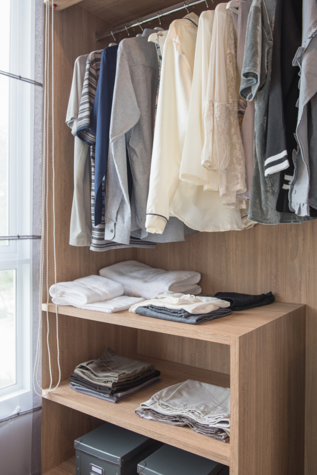 Making Closet Systems Work for Tight Spaces