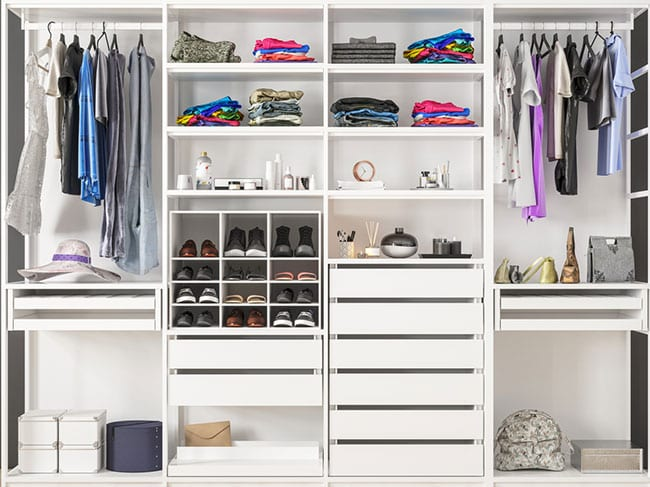 Top Benefits of Including Closet Systems in Your Home Building